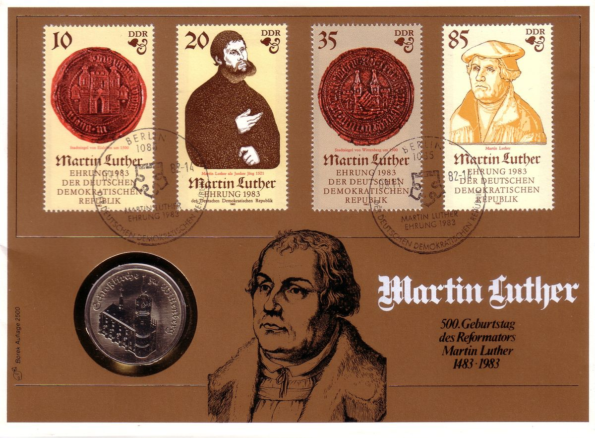 DDR, Luther, 1983, 500 Jahre Martin Luther