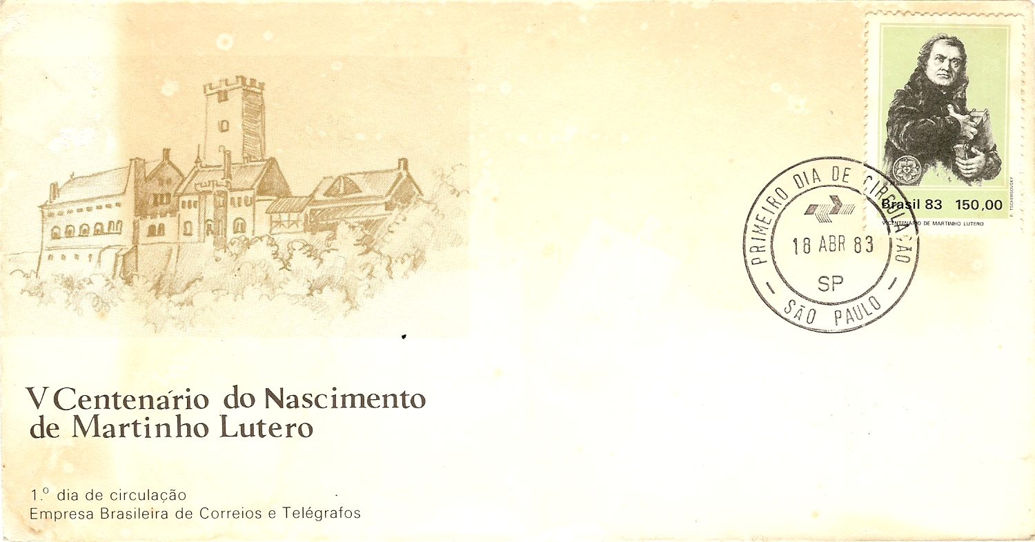1983.04.18_Brasil_Luther_FDC