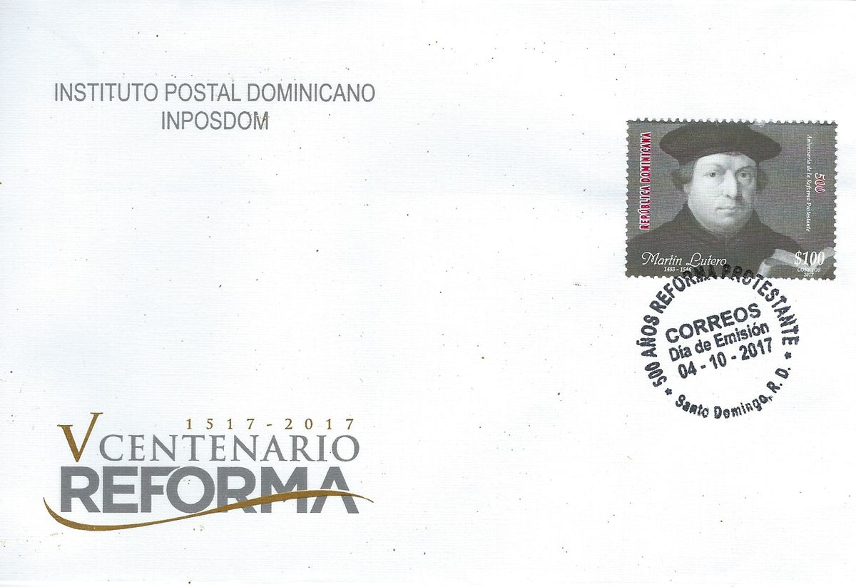 2017.10.04_FDC DomRep 500 Jahre Reformation_Luther