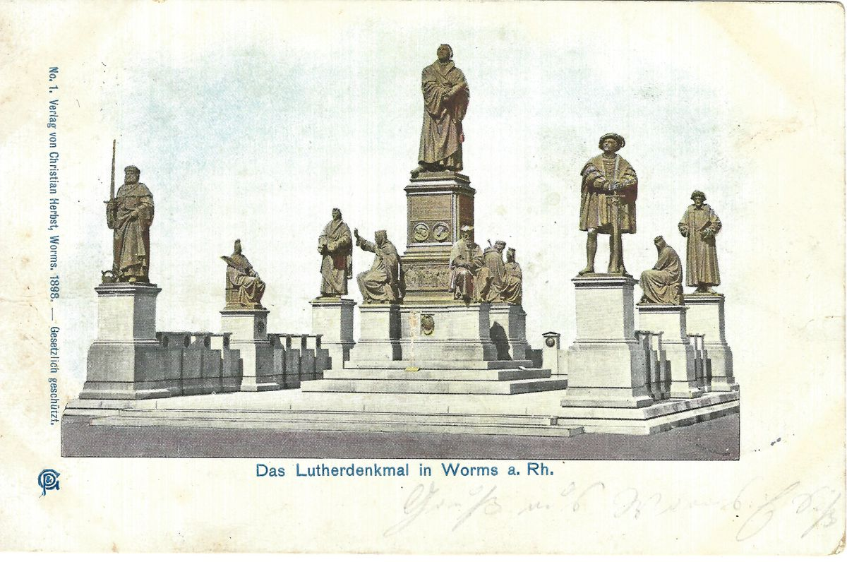 1889_PK_Lutherdenkmal Worms