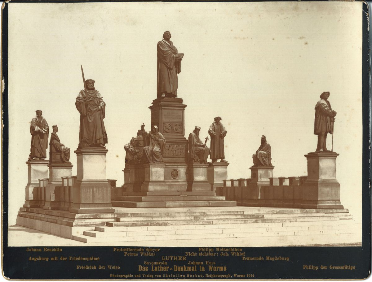 1914_Foto Lutherdenkmal Worms_