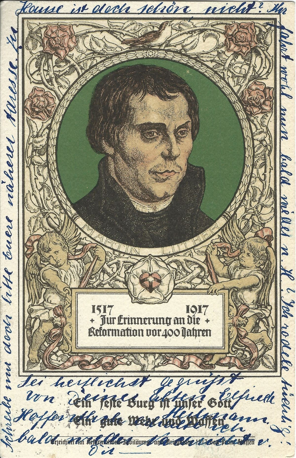 1917_PK_400 Jahre Reformation_Luther